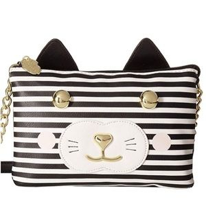 NWT Luv Betsey® Kitch Cat Double Crossbody